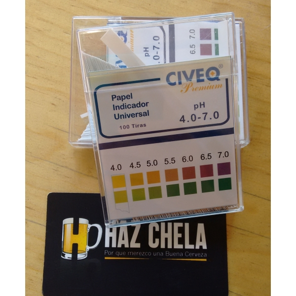 TIRAS MEDICION pH