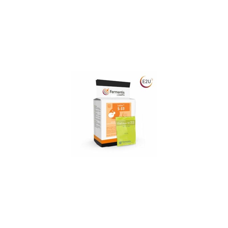 LEVADURA SAFBREW S-33 SOBRE 11.5 g