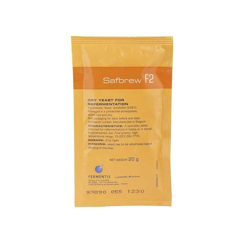 SAFBREW -F2 SOBRE 20 g
