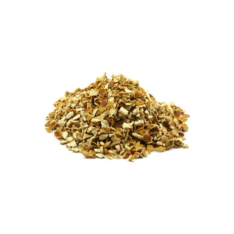 CASCARA DE NARANJA AGRIA (ORANGE PEEL BITTER) 100 gramos