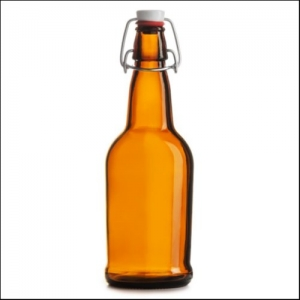 BOTELLA EZ CAP 500mL AMBAR