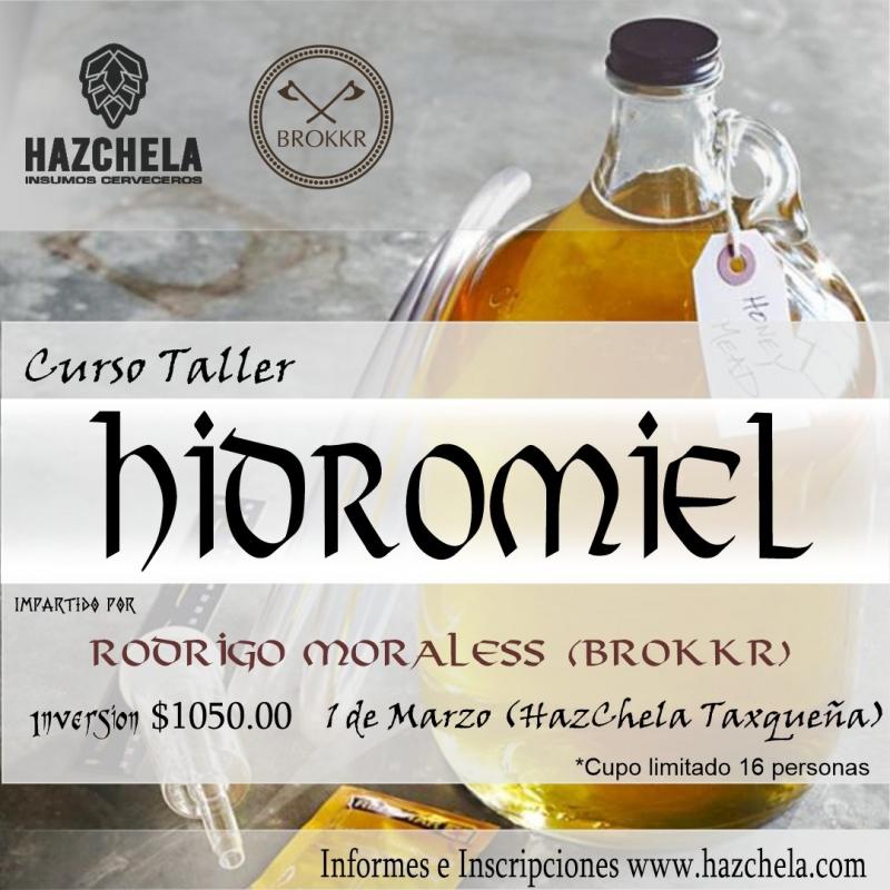 CURSO TALLER ELABORACION DE HIDROMIEL
