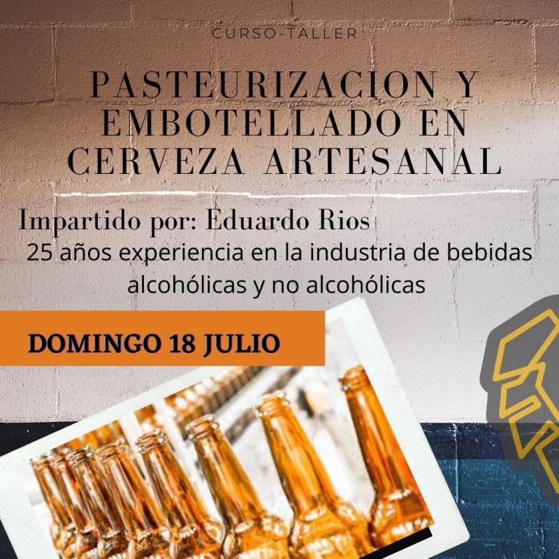 CURSO TALLER PASTEURIZACION Y EMBOTELLADO
