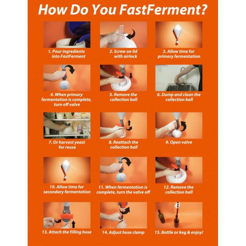 FAST FERMENT 14GAL (53LITROS)