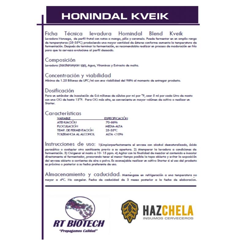 LEVADURA HORNINDAL BLEND KVEIK